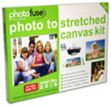 Photofuse Photo To Stretched Canvas Kit